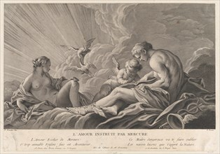 Love Instructed By Mercury, 18th century.