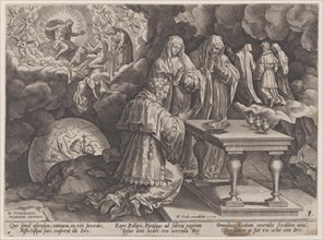 """Old Age and Death, from """"The Course of Human Life"""", 1570."""