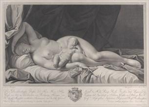Sleeping Venus with Cupid in her lap, 1783.