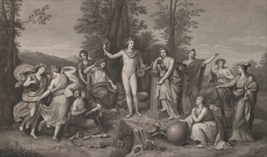Apollo and the Muses on Parnassus, 1784.