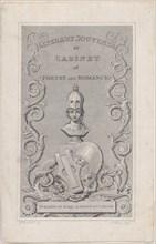 Trade Card for Literary Souvenir, 19th century.