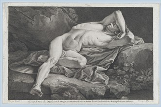Study of Male Nude, 1762.