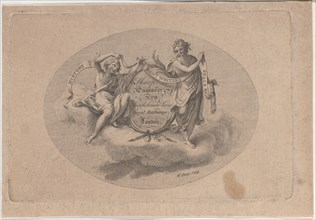 Trade Card for William Sharp, Engraver, 19th century.