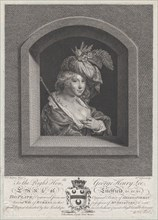 Portrait of Susanna Lunden, sister of Helena Fourment, 1763-66.
