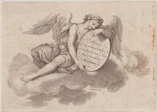 Trade Card for William Sharp, Engraver, 18th century.