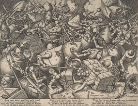 The Battle about Money, after 1570.