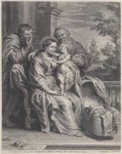 The Holy Family with Saint Anne, ca. 1625-35.