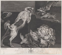 Dogs and Still Life, 1778.