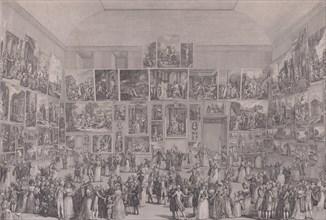 Exposition au Salon du Louvre en 1787, 1787.