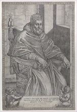 Portrait of Pope Sixtus V, 1585.