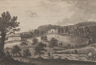 A View of the Lodge in the South Park, near Penshurst in the County of Kent, from The History and Topographical Survey of the County of Kent, vols. 1-3, 1777-90.