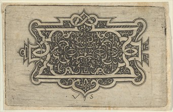 Arabesque Design on Dark Ground, 1534-1562.