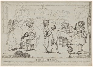 The Bum Shop, July 11, 1785.