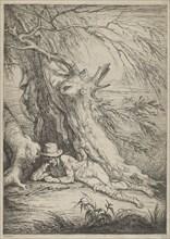 Bandit Beneath a Tree, 1795-1801.
