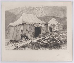 "The Tents (from ""The Portfolio""), 1880."