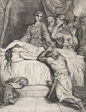 Oh! Oh! Oh!: plate 14 from Othello (Act 5, Scene 2), etched 1844, reprinted 1900.