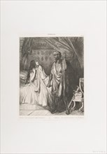 Have you pray'd tonight, Dedesmona?: plate 12 from Othello (Act 5, Scene 2), etched 1844, reprinted 1900.