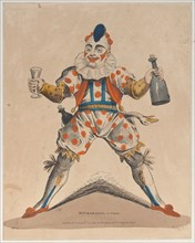 Mr. Grimaldi as Clown, July 13, 1822.