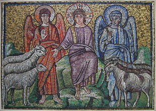Separation of Sheep and Goats, Byzantine, early 20th century (original dated early 6th century).