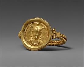 Bracelet with Bust of Roma, Byzantine, 400-450.