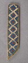Element of a Border for an Icon Frame, Byzantine, 10th century.