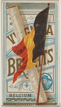 Belgium, from Flags of All Nations, Series 1 (N9) for Allen & Ginter Cigarettes Brands, 1887.