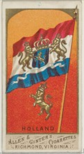 Holland, from Flags of All Nations, Series 1 (N9) for Allen & Ginter Cigarettes Brands, 1887.
