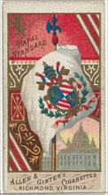 Papal Standard, from Flags of All Nations, Series 1 (N9) for Allen & Ginter Cigarettes Brands, 1887.