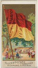 Alsace and Lorraine, from Flags of All Nations, Series 2 (N10) for Allen & Ginter Cigarettes Brands, 1890.