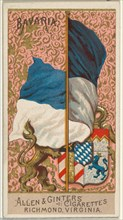 Bavaria, from Flags of All Nations, Series 2 (N10) for Allen & Ginter Cigarettes Brands, 1890.