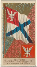 Poland, from Flags of All Nations, Series 2 (N10) for Allen & Ginter Cigarettes Brands, 1890.