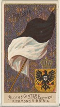 Prussia, from Flags of All Nations, Series 2 (N10) for Allen & Ginter Cigarettes Brands, 1890.