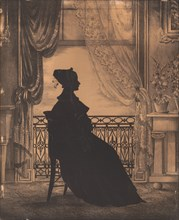 Portrait of a Woman before a Window, before 1860.