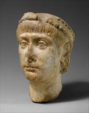 Head of Emperor Constans (r. 337-50), Byzantine, ca. 337-40.