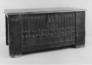 Chest, British, 15th century.