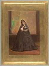 [Countess de Castiglione as Anne Boleyn], before 1865.
