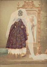 [La Comtesse in robe de piqué or as Judith (?)], 1860s.