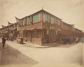 Maison de thé, 1870s.