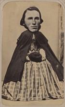 [Carte-de-visite Album of Collaged Portraits], 1850s-90s.