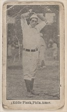 Eddie Plank, Philadelphia, American League, from the Baseball Players set (W500), ca. 1915.