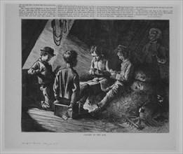 Caught in the Act (Harper's Bazaar, Vol. VIII), May 22, 1875.
