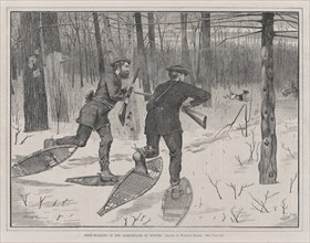 Deer-Stalking in the Adirondacks in Winter (Every Saturday, Vol. II, New Series), January 21, 1871.