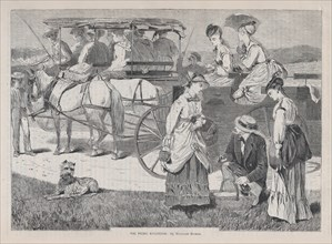 The Picnic Excursion (Appleton's Journal, Vol. I), August 14, 1869.