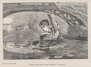 Orrin, Make Haste, I Am Perishing! (The Galaxy, An Illustrated Magazine of Entertaining Reading, Vol. VI), August 1868.