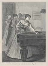 Jessie Remained Alone at the Table (The Galaxy, An Illustrated Magazine of Entertaining Reading, Vol. VI), July 1868.