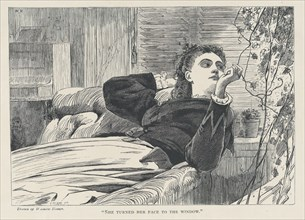 She Turned her Face to the Window (The Galaxy, An Illustrated Magazine of Entertaining Reading, Vol. V), May 1868.