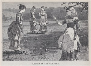 Summer in the Country (Appleton's Journal, Vol. I), July 10, 1869.