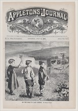 On the Road to Lake George (Appleton's Journal, Vol. I), July 24, 1869.