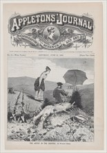The Artist in the Country (Appleton's Journal, Vol. I), June 19, 1869.