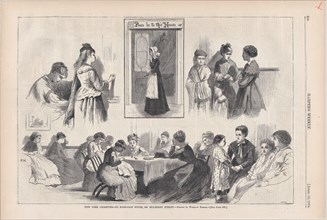 New York Charities - St. Barnabas House, 304 Mulberry Street (Harper's Weekly, Vol. XVIII), April 18, 1874.